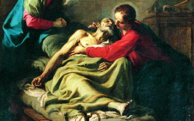 Giambettino Cignaroli – Transito di San Giuseppe