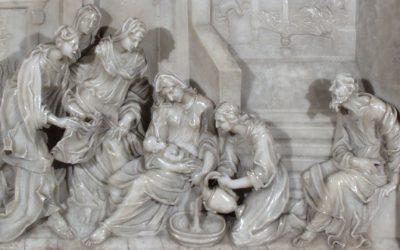 Andrea Fantoni – La nascita della Vergine