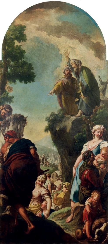 BalaamBalaam benedice IBaalam sraele -Balaam benedice Balaam benedice Israele Israele enedice-Israele-Raggi-Giovanni
